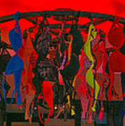 Bras On Display In Pigalle Poster