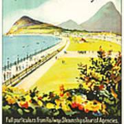 Bray Ireland Poster by Georgia Fowler