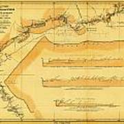 Brazil Cuiaba River 1883  Poster