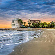 Breach Inlet Sunset Poster
