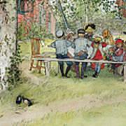 Breakfast Under The Big Birch Poster