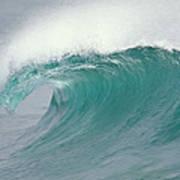 Breaking Wave North Shore Hawaii Poster