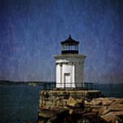 Breakwater 'bug Light House Poster