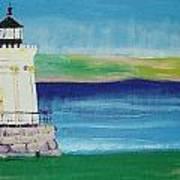 Breakwater Lighthouse Poster