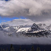 Breckenridge And Clouds  Poster