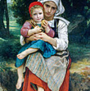 Breton Brother And Sister Poster
