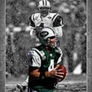 Brett Favre Jets Poster