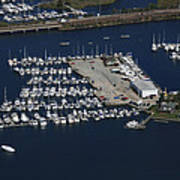 Brewer Yacht Yard, Mystic Poster