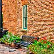 Brick Alley 3 Poster by Baywest Imaging