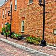 Brick Alley Poster by Baywest Imaging