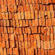 Brick Stack Poster