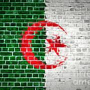 Brick Wall Algeria Poster