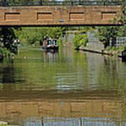 Bridge 238b Oxford Canal Poster