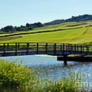 Bridge At Charmouth Poster