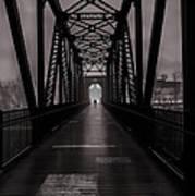 Bridge Crossing Poster by Bob Orsillo