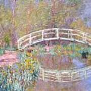 Bridge In Monet's Garden Poster
