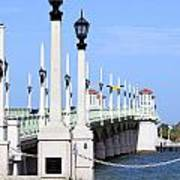 Bridge Of Lions St Augustine Florida Poster
