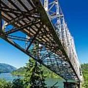 Bridge Over Columbia River Poster