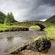 Bridge Over River, Scotland Poster