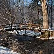 Bridge Over Snowy Valley Creek Poster