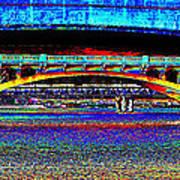 Bridge Panorama Pop Art Poster