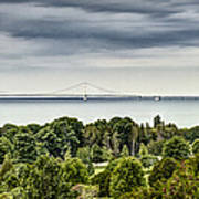 Bridge To Mackinac Poster
