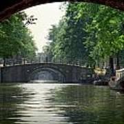 Bridges In Amsterdam Poster