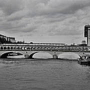 Bridges In Paris Poster