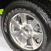 Bridgestone Tire Poster