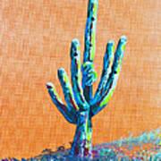 Bright Cactus Poster