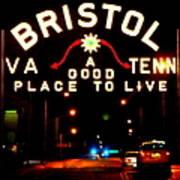 Bristol Poster by Karen Wiles