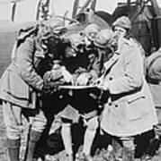 British Aviators, Early 20th Century Poster