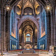 British Cathedral Poster