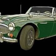 British Racing Green Poster