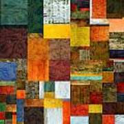 Brocade Color Collage 1.0 Poster