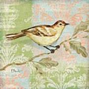 Brocade Songbird I Poster by Paul Brent