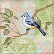 Brocade Songbird II Poster