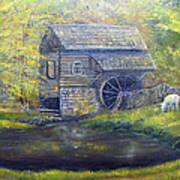 Bromley Mill At Cuttalossa Farm Poster