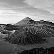 Bromo Valley Java Indonesia Poster