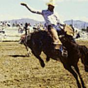 Bronco Rider Poster