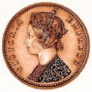 Bronze Empress Victoria Poster