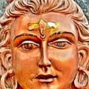 Bronze Shiva Statue - Uttarkashi India Poster