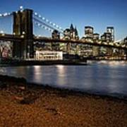 Brooklyn Bridge View Poster