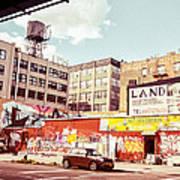Brooklyn - New York City - Williamsburg Poster