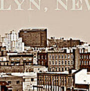 Brooklyn New York Poster