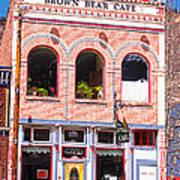 Brown Bear Cafe Silverton Colorado Poster
