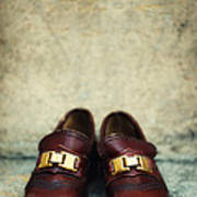 Brown Children Shoes Poster