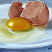 Brown Egg Study Poster