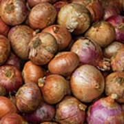 Brown Onions Poster