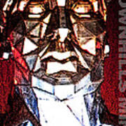 Brownhills Miner Face Poster